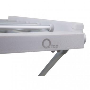 3 SD00034698 Сушилка для белья электрическая Qtap Breeze (SIL) 57702 с терморегулятором