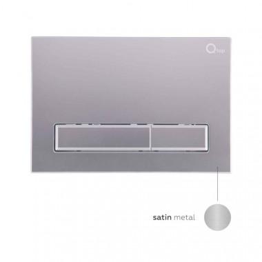 2 SD00035428 Инсталляция для унитаза Qtap Nest M425-M08SAT с панелью смыва Satin