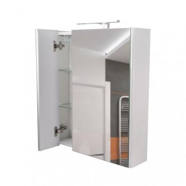 4 SD00036099 Зеркальный шкаф подвесной Qtap Albatross с подсветкой QT0177ZP600LW